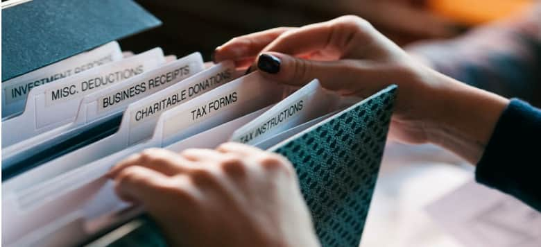 Keep Organized Record of Expenses
