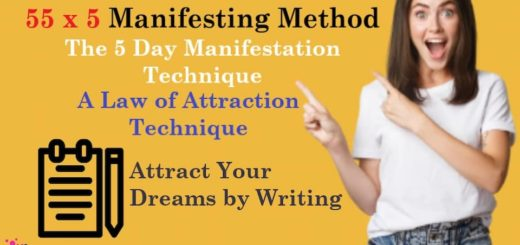Law of Attraction Technique - The 55 x 5 Manifesting Method