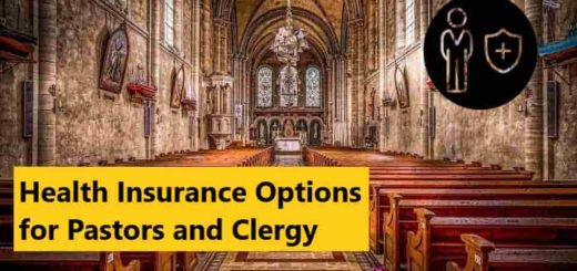 Health insurance options for pastors and clergy