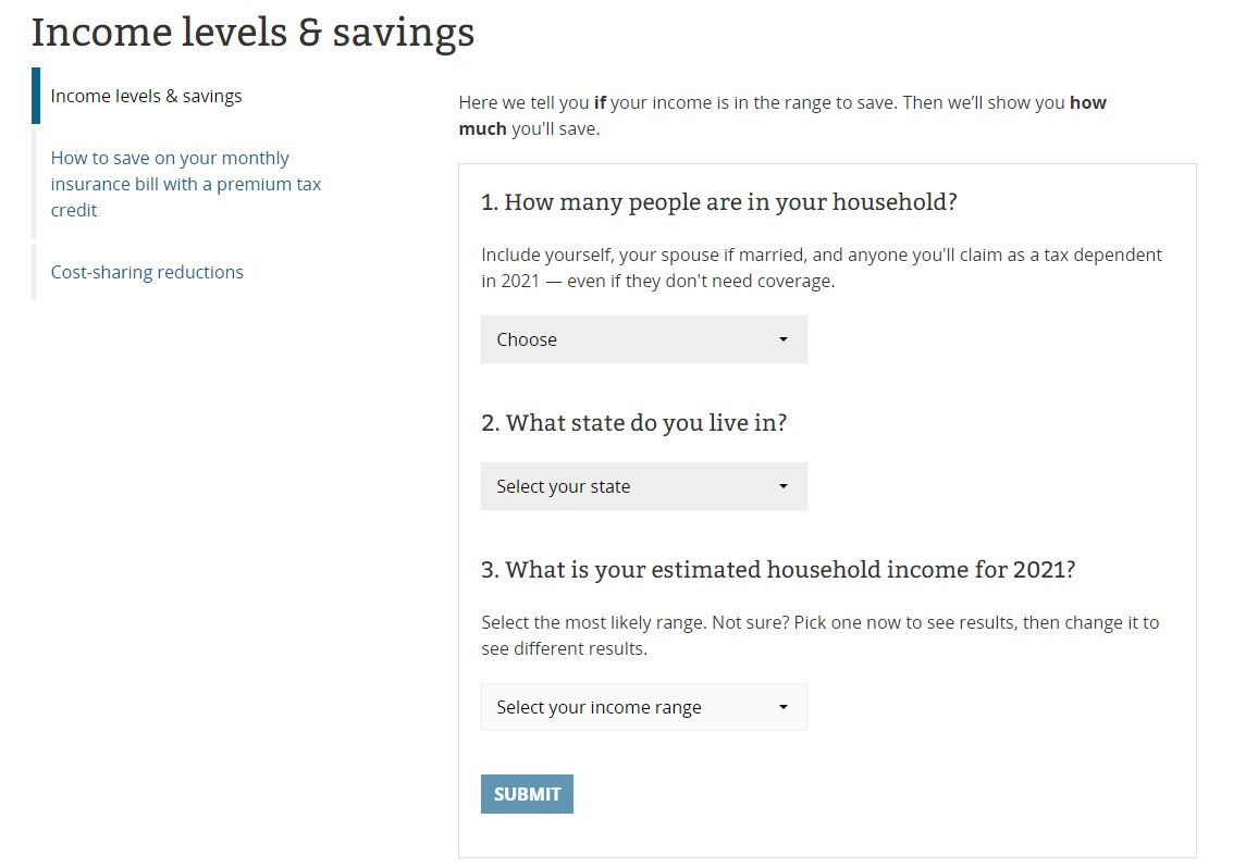 ACA (Obamacare) Discounts for People having Low to Moderate Income Levels