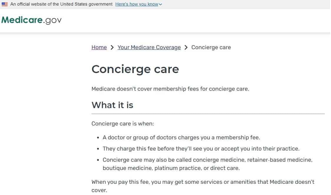 Health Insurance Alternatives - Concierge care