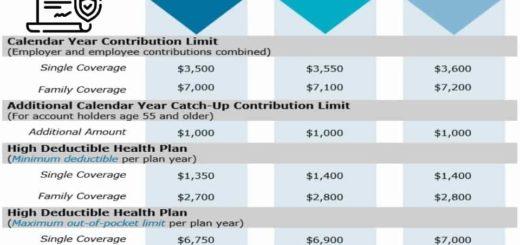IRS HSA Contribution Limits 2021