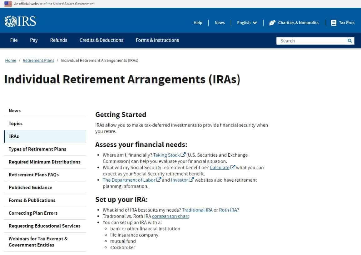 Individual Retirement Arrangements (IRAs) helps decreasing Medical Premiums
