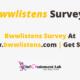 Bwwlistens Survey At www.bwwlistens.com