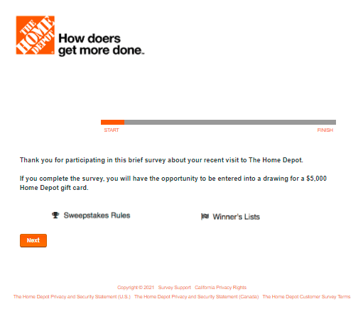 Home-Depot-Sweepstakes-At-www.HomeDepot.com-survey