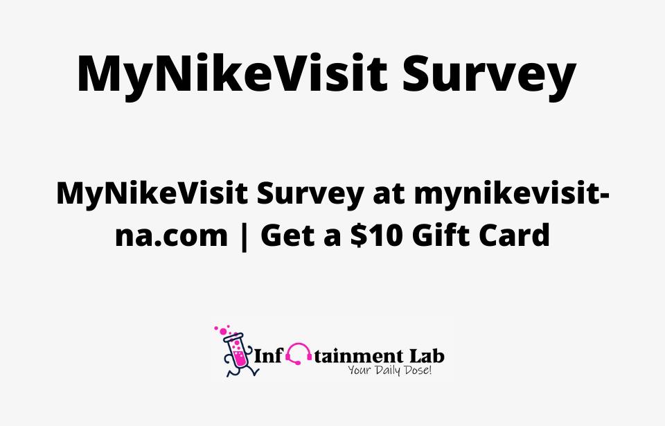 MyNikeVisit-Survey-at-mynikevisit-na.com