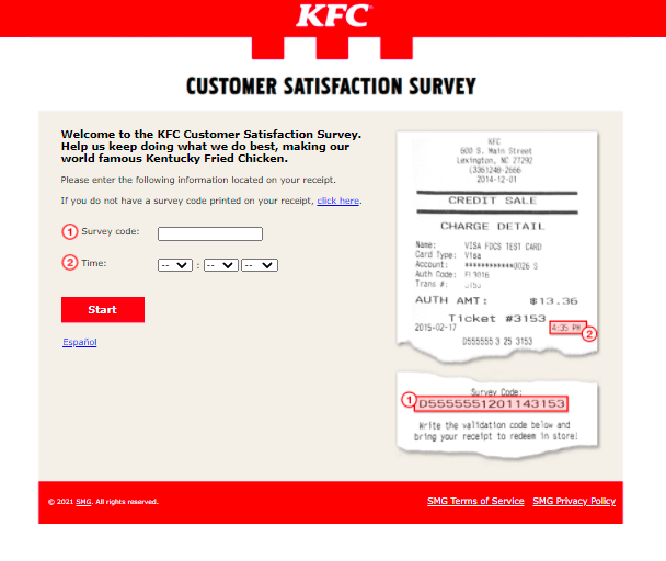 MyKFCExperience-Survey-Homepage-At-www.MyKFCExperience.com
