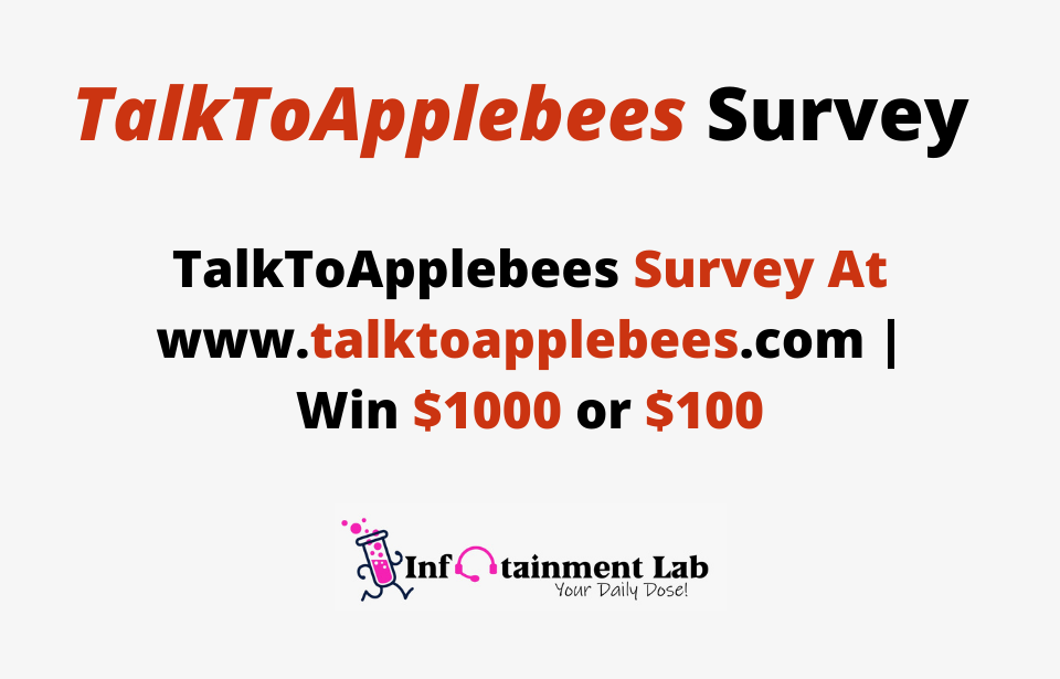 TalkToApplebees-Survey-At-www.talktoapplebees.com